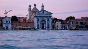 the jesuit church, venice, italy